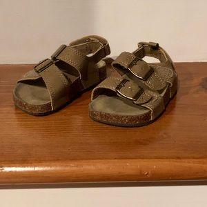 CARTERS, Size 7, boys sandals